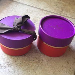 Kate Spade bangle box - free with bangle purchase